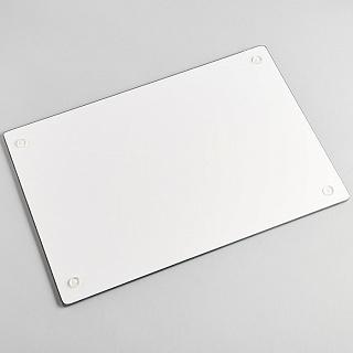 """Доска разделочная 20х30см стеклянная RD0064/1-ST """"Ванильный макаронс"""""""